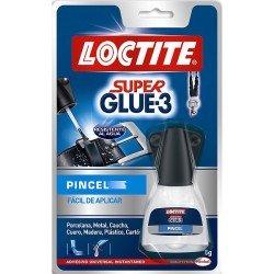 Pegamento Loctite Super Glue 3 pincel 5g