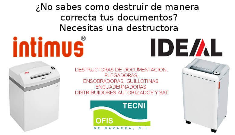 Destructoras de documentacion